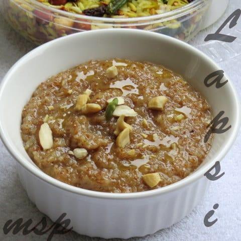 Lapsi - A gujarathi Delicacy