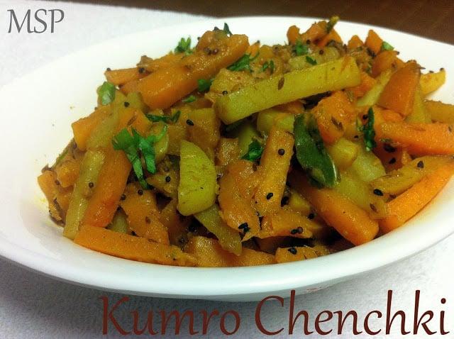 Kumro Aaloo Chenchki