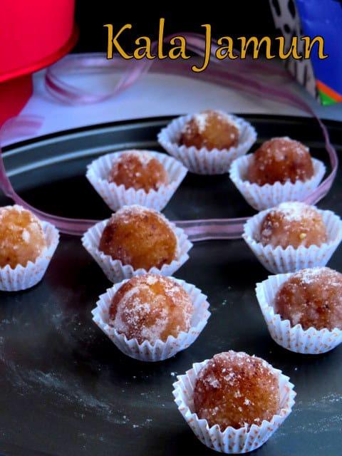 Jamuns, sweets,