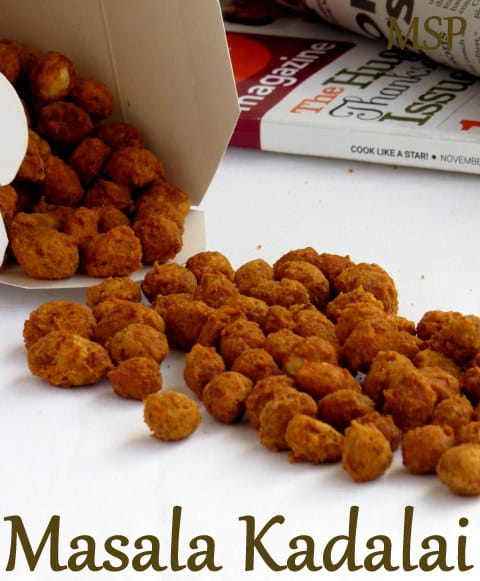 Masala Kadalai | Spicy Peanuts