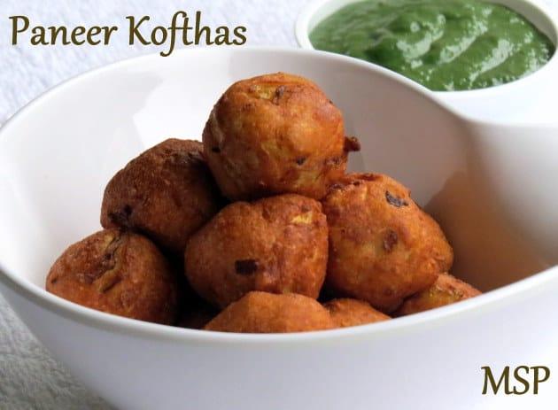 Paneer Koftha, starters, appetizers