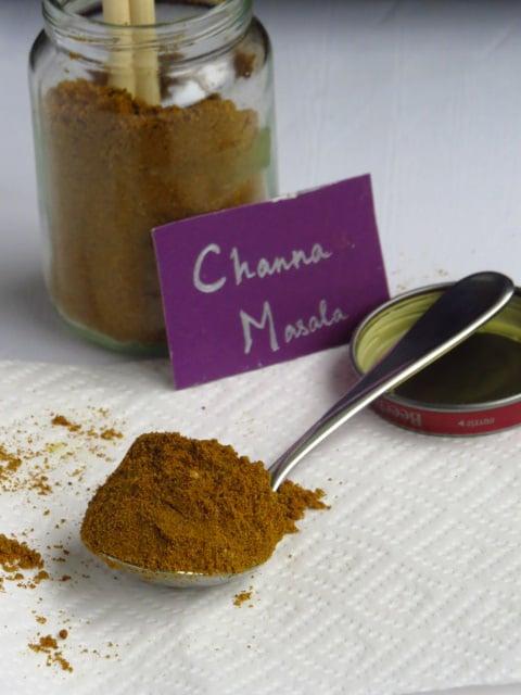Home made Channa Masala Powder
