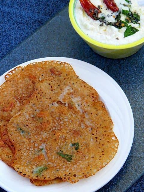 Godhumai Rava Dosa   Wheat Flour Dosa