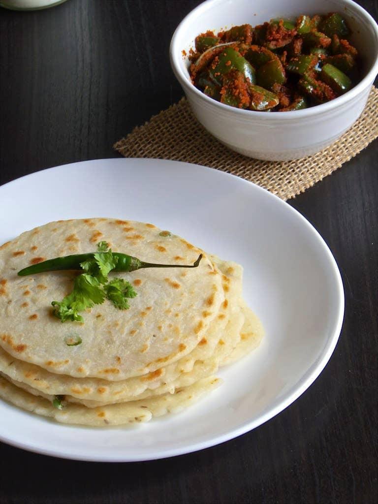 Angakar Roti   Rice Roti - Chattisgarhi Breakfast