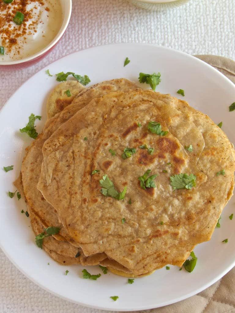 Parath Masala Paratha | Layered Masala Paratha