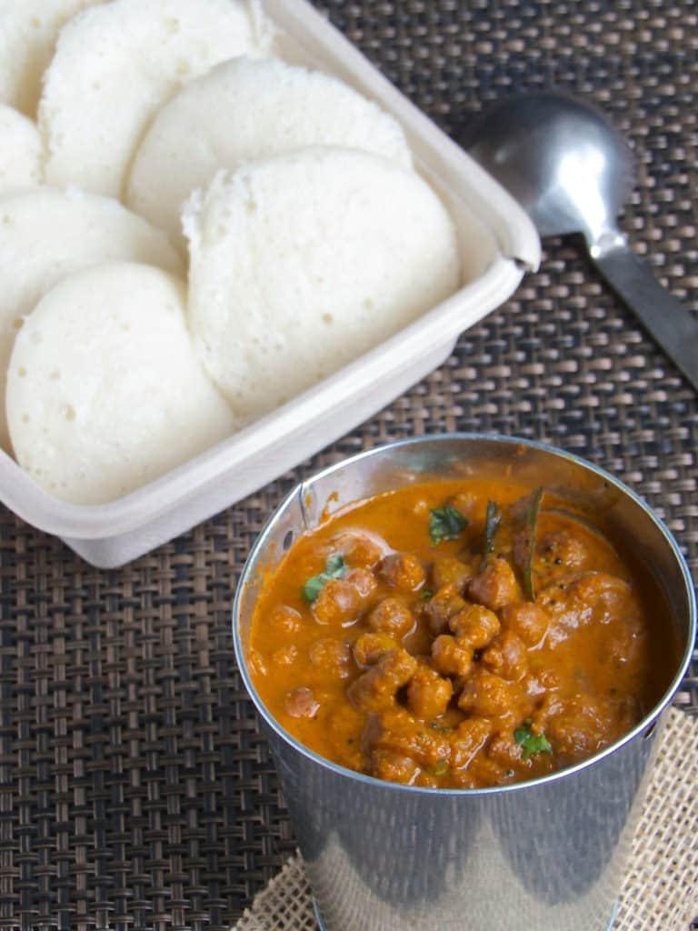 Kerala Kadala Curry - Kerala Breakfast Special