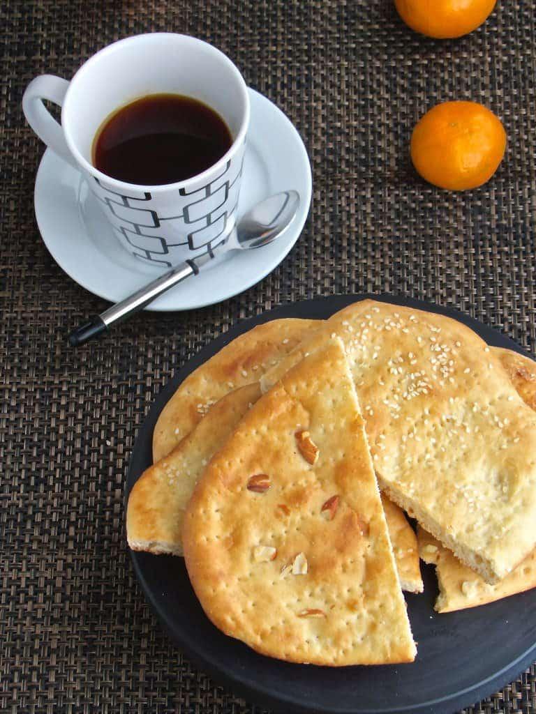 Sheermal - A sweet Kashmiri Bread