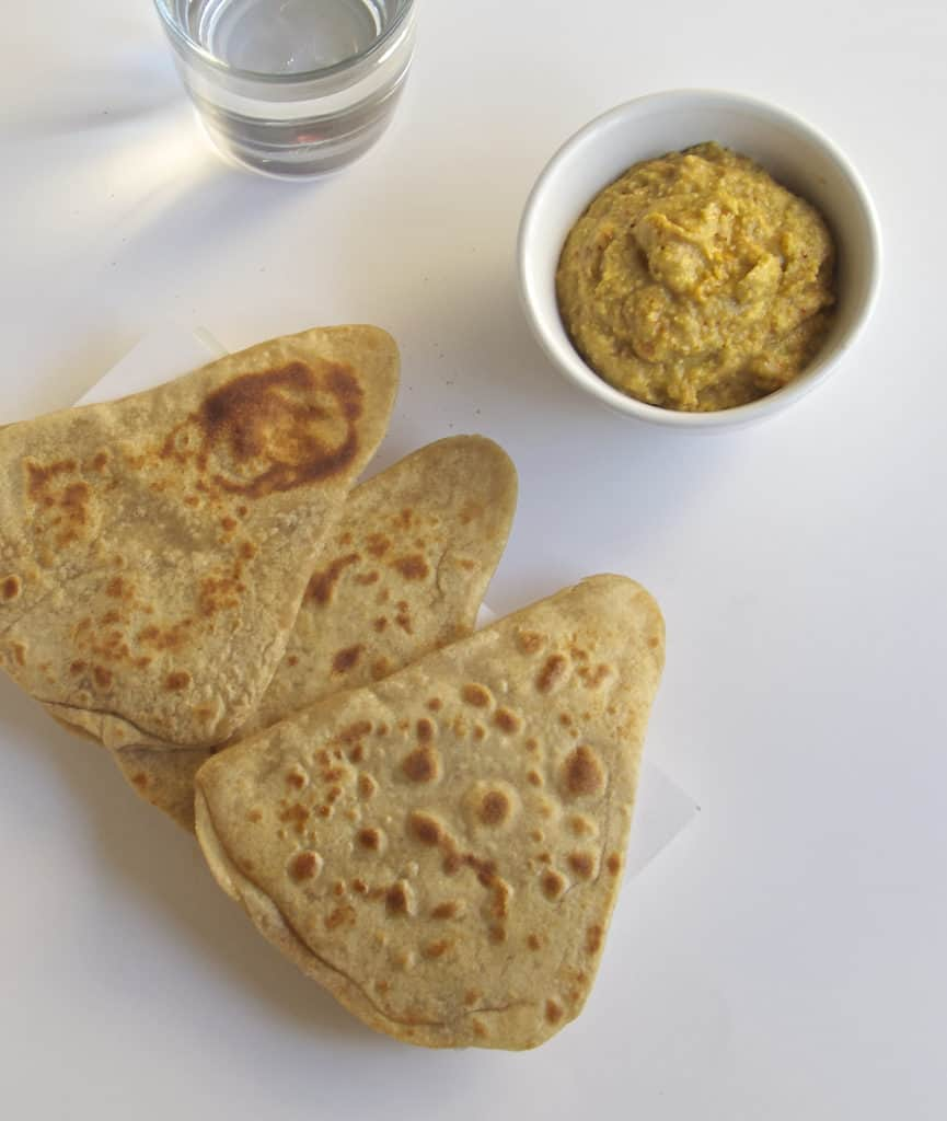 Trikon Paratha | Triangle Paratha
