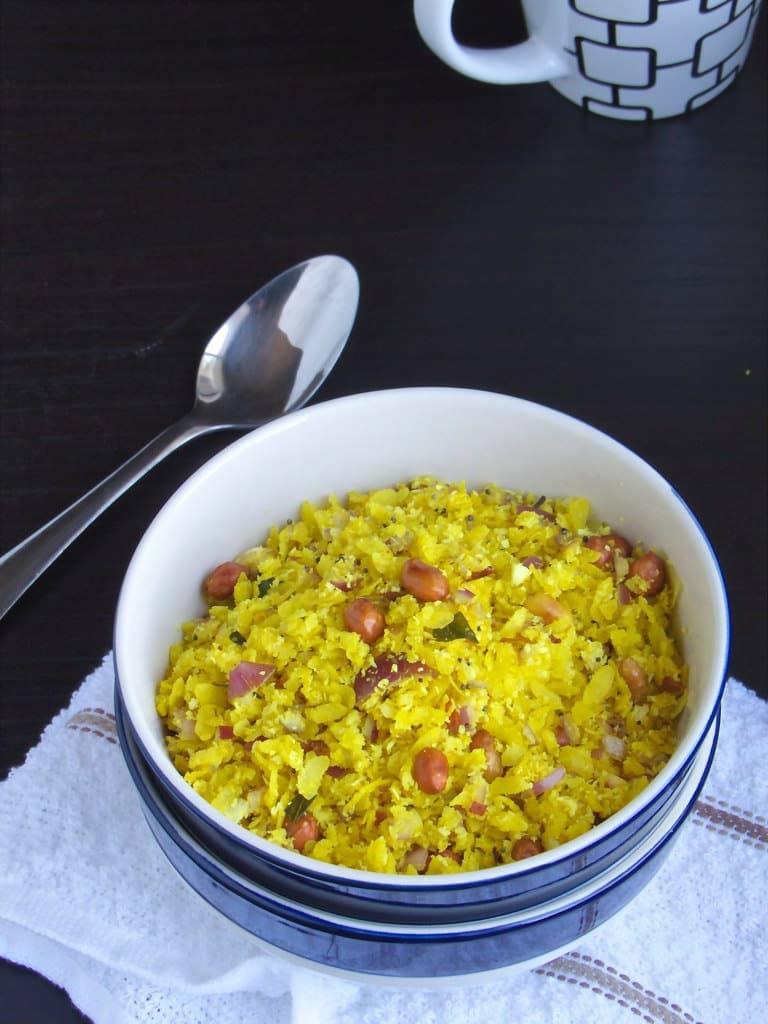Dadpe Pohe - Maharashrian Breakfast