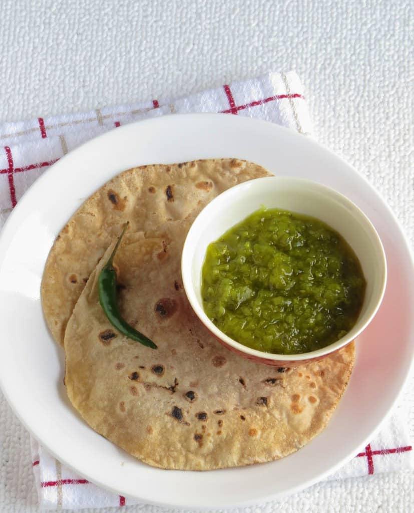 Hmarcha Rawt   Roasted Green Chilli Chutney - Mizoram Chutney