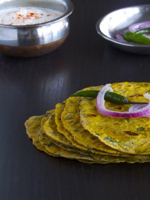 Methi Thepla _ Gujarati Breakfast