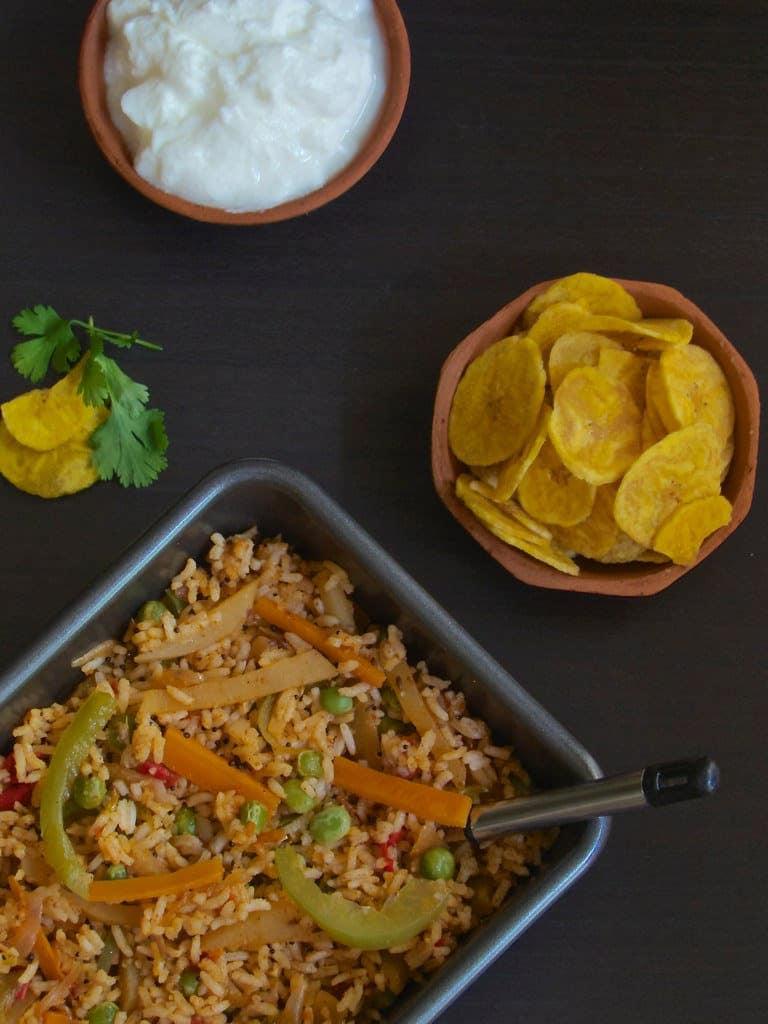 Tawa Pulav - Mumbai Street Food