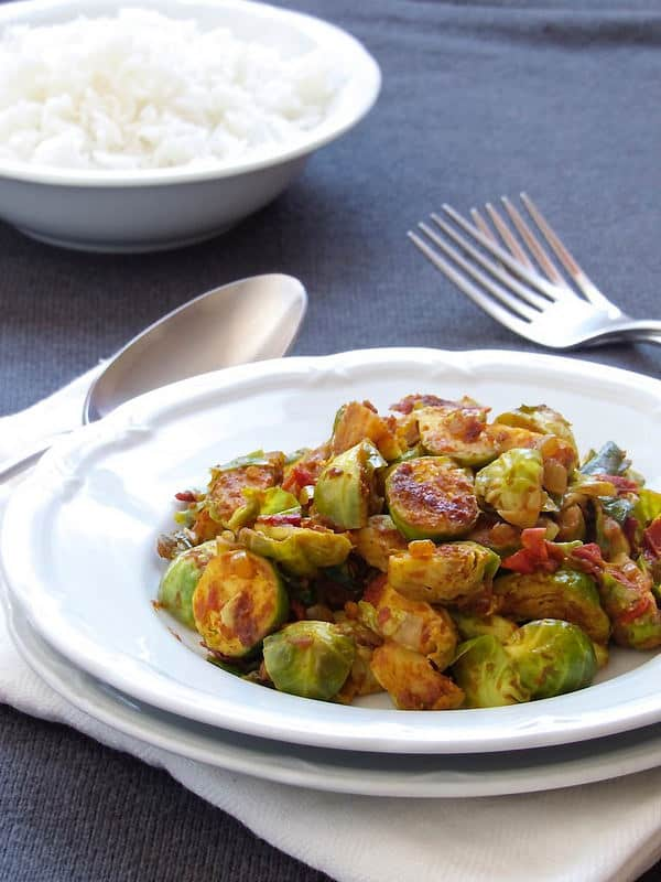 Brussel Sprouts Subzi