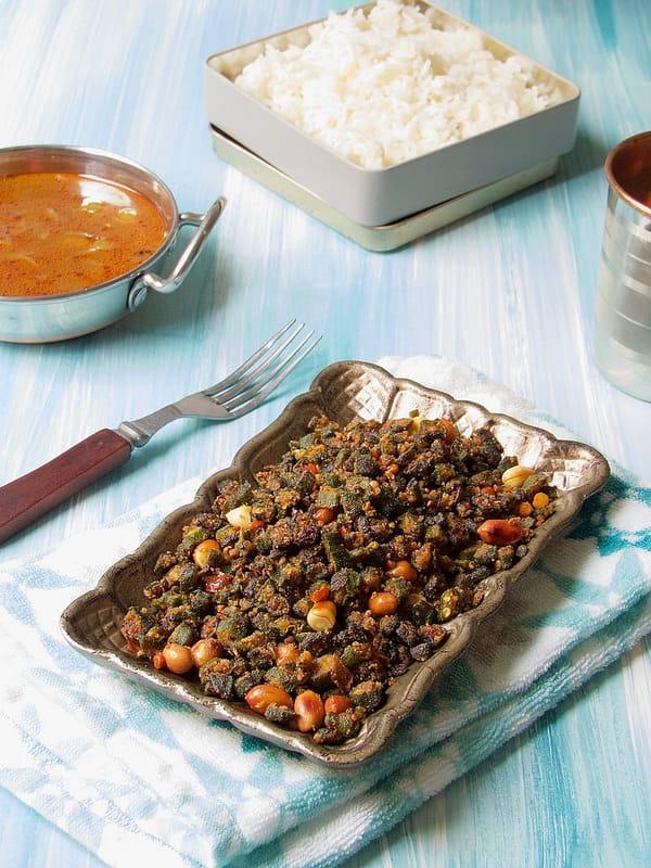 Okra Fry | Vendakkai roast