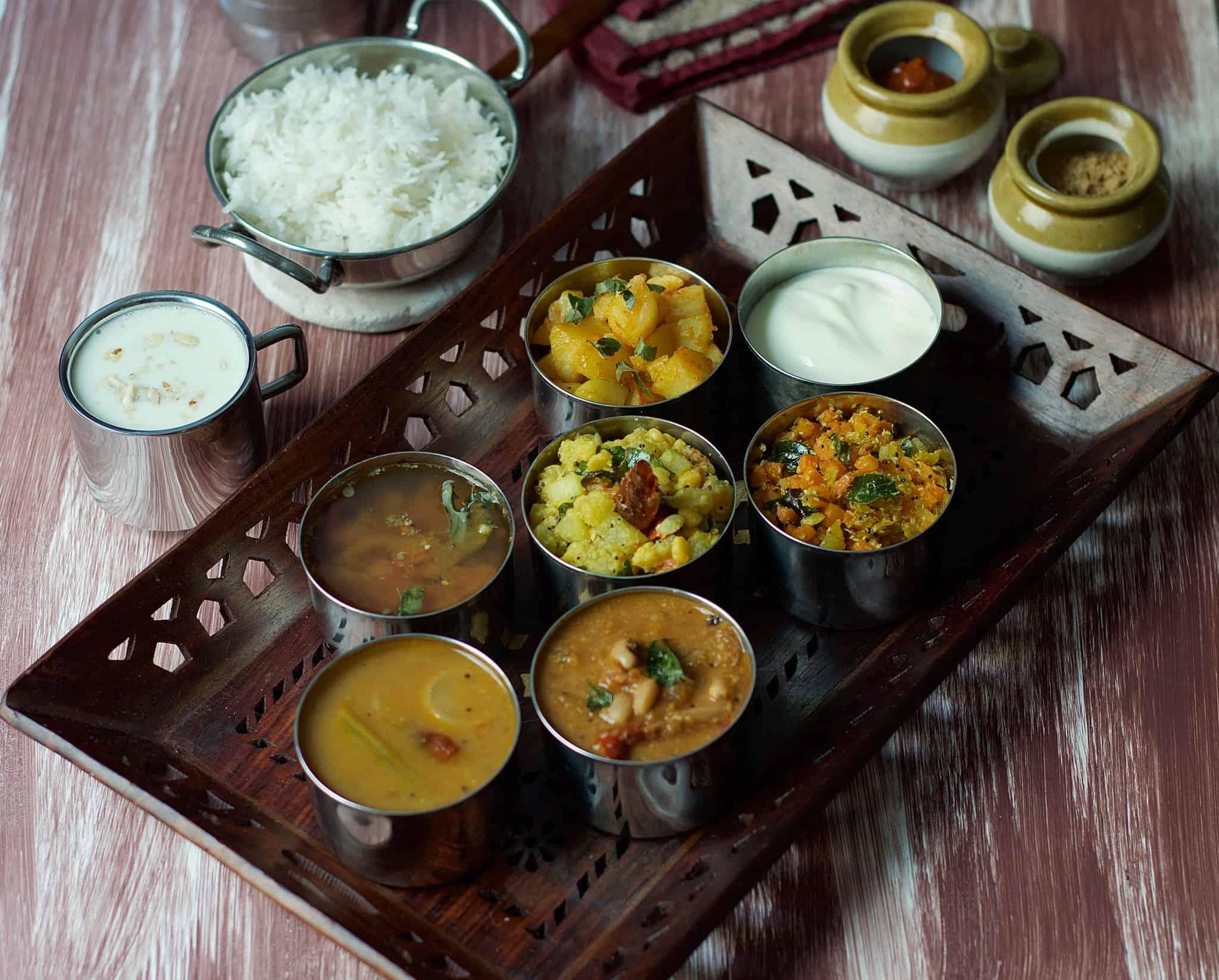 Restuarant style Tamil Nadu Thali