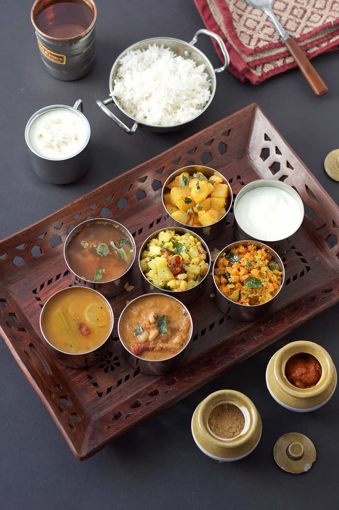 Restuarant style tamil nadu thali the magic saucepan characteristic for every human being in this present social media and networking predominant world it is a very interesting self help genre book forumfinder Gallery