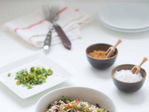 Cowpeas Salad |Karamani Salad