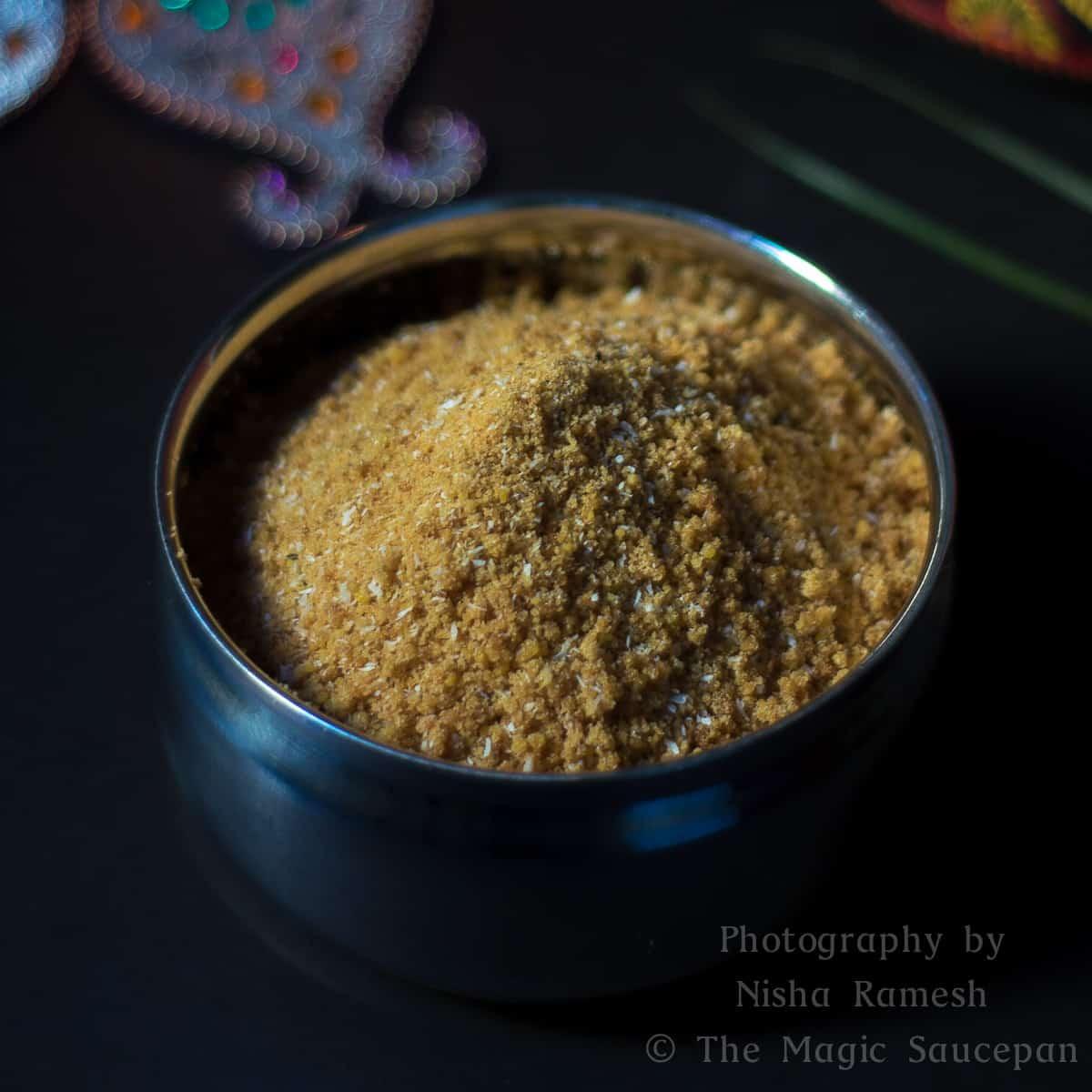 Navarathri Arisi Puttu | Rice Flour Puttu